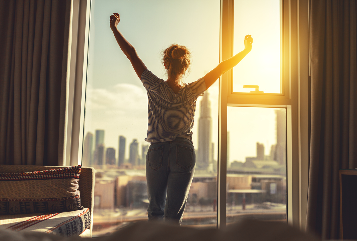 Waking up, restored adrenal function
